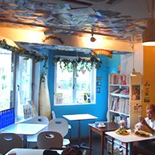 Hawaiian cafe