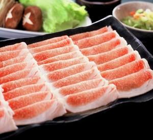 Kinka pork shabu-shabu