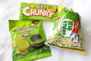 Maccha snacks