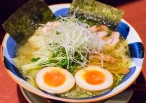 Special Torisoba (chiken noodles)