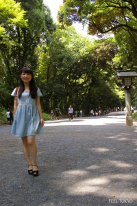 10 minutes' walk to main shrine