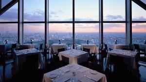 An increadible view of Tokyo city