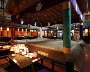 Sumo themed Izakaya in Ryogoku