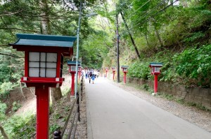 The way to Sanyaku Ouin temple